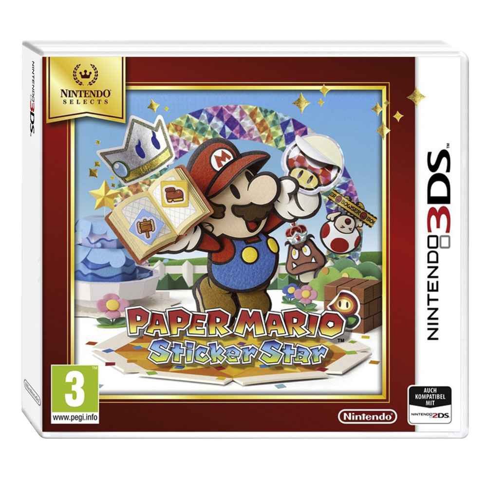 Paper Mario Sticker Star Selects