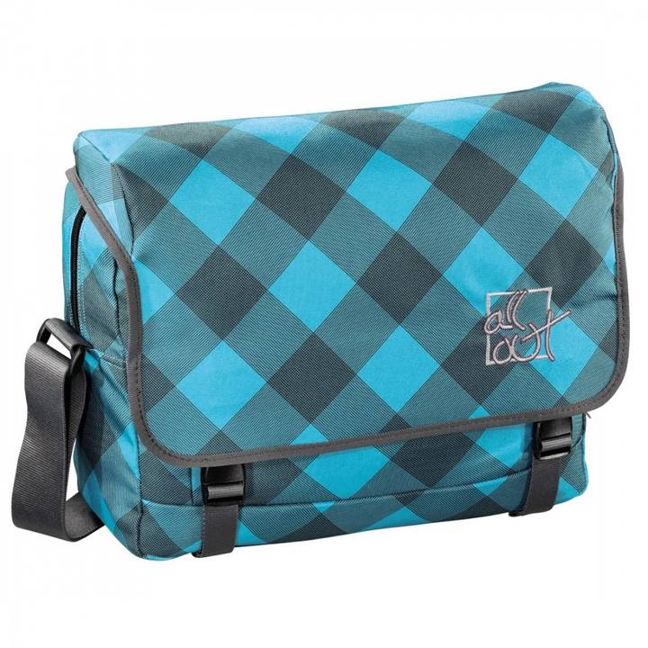ALL OUT Schultertasche Barnsley Blue Dream Check