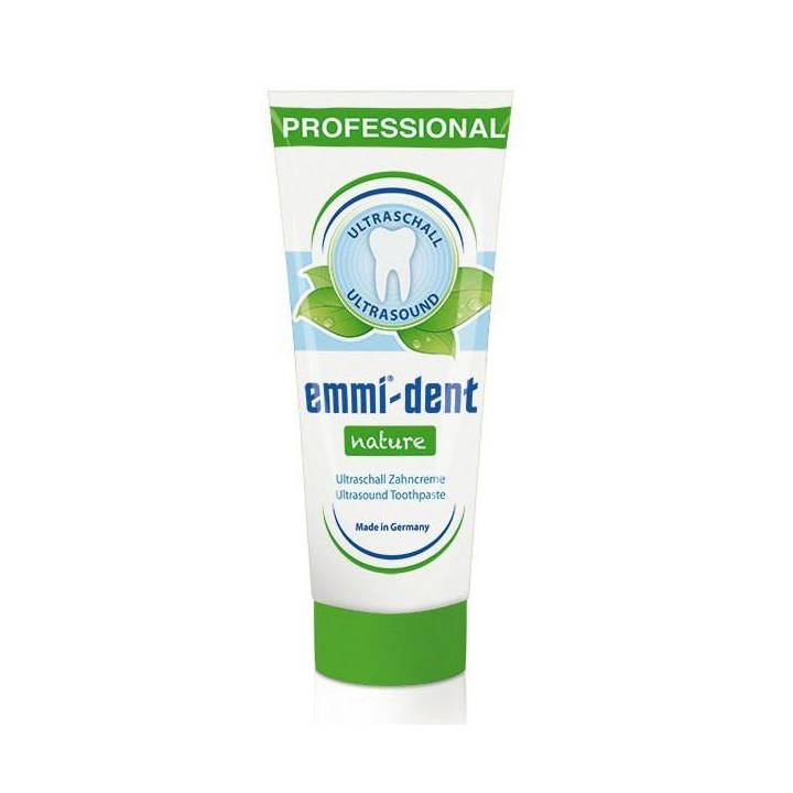 EMMI-DENT Ultraschall Zahncreme Nature 75 ml