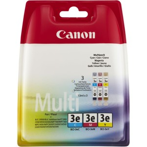 Canon Ink Cart. BCI-3C/M/Y