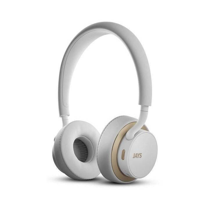 JAYS u-Jays Wireless, White/Gold