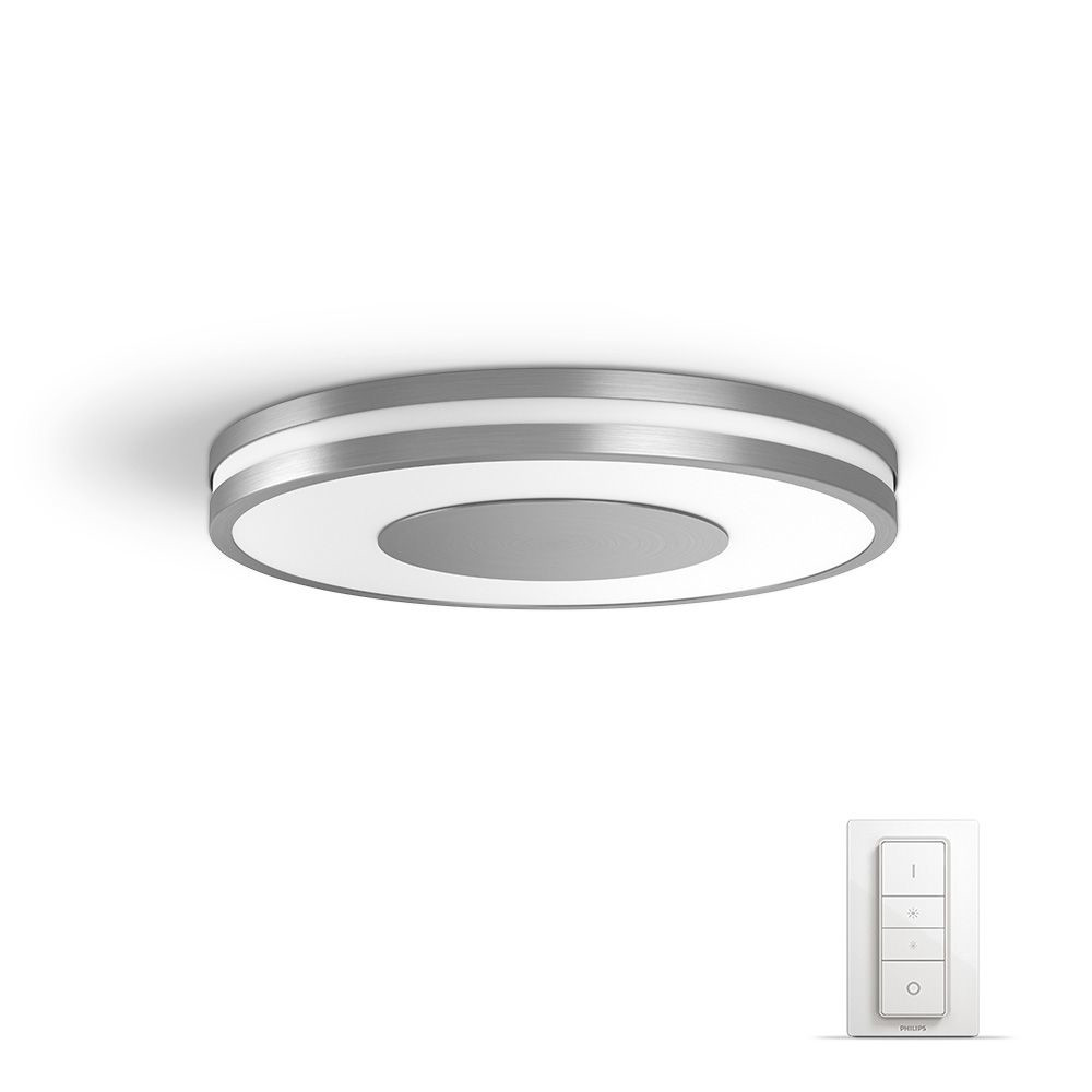 Philips hue wand deckenleuchte white ambiance being for Lampensystem decke