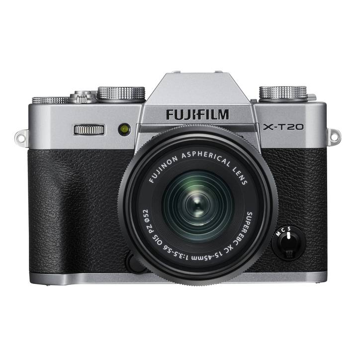 FUJIFILM X-T20 Silver Kit XC 15-45mm