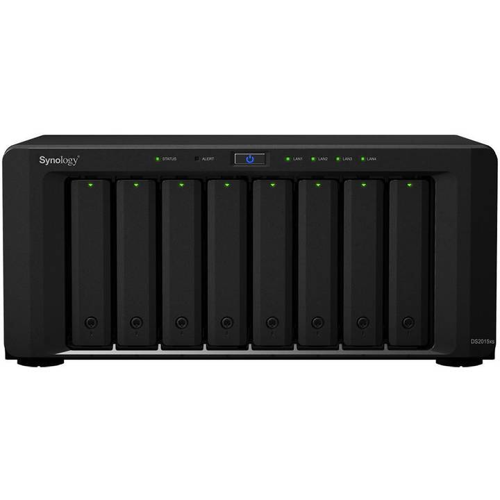 Synology DS2015XS, 8-bay NAS inkl. 8x 3T