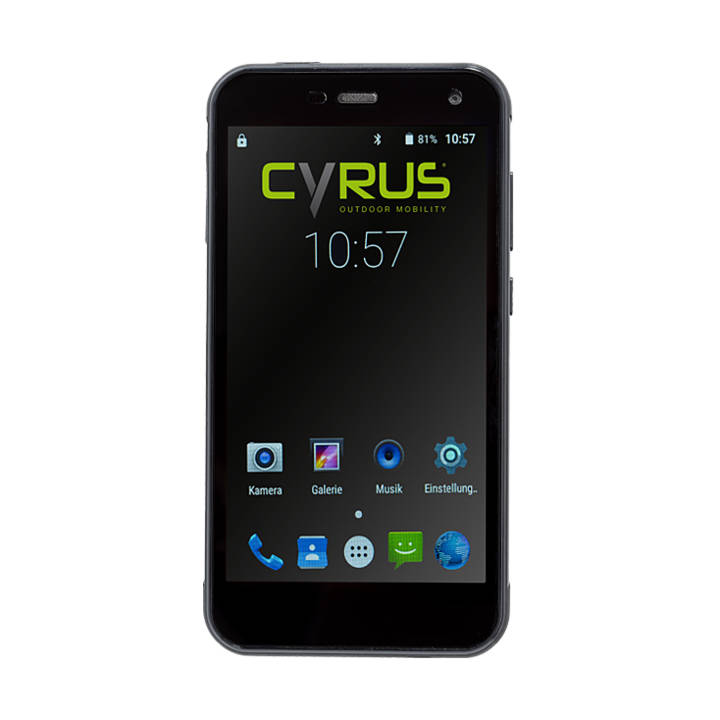 CYRUS CS 28, 32 GB, Dual SIM, Black