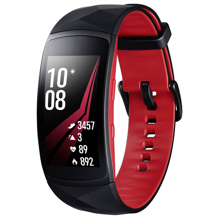 SAMSUNG Gear Fit2 Pro S Black / Red
