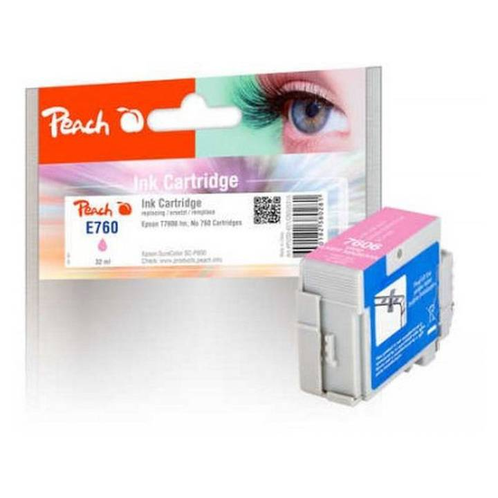 PEACH Tinte Epson T7606, No760