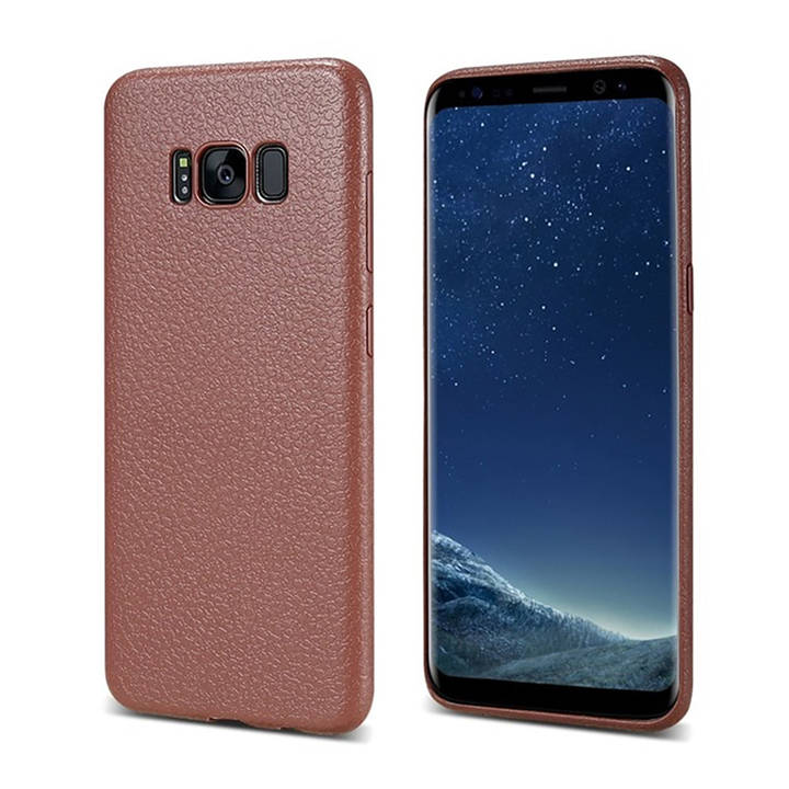 EG FLOVEME Backcover für Samsung Galaxy S9 Plus - Braun
