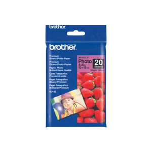 BROTHER Premium Glossy Photo Papier