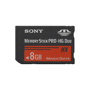 SONY Memory Stick PRO-HG Duo HX 8 GB