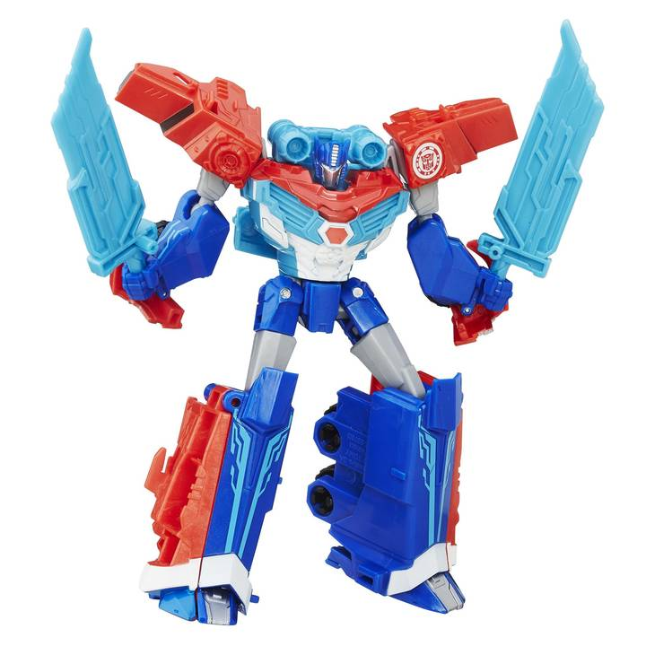 HASBRO Transformers Warr Power Surge Optimus Prime