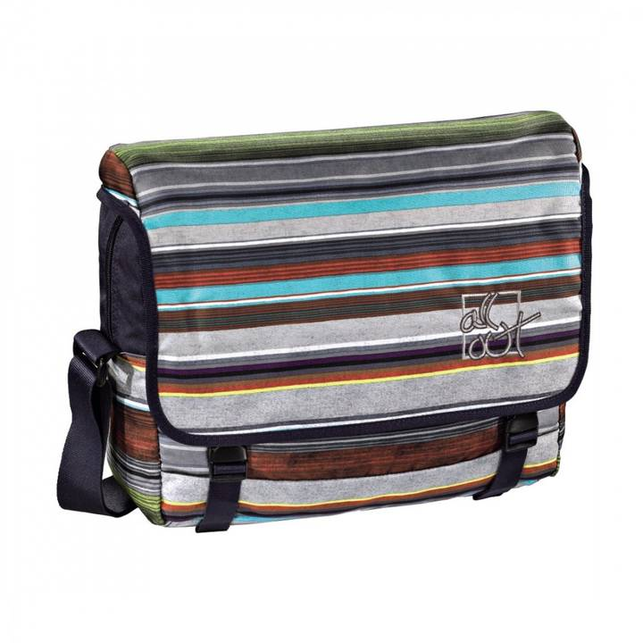 ALL OUT Schultertasche Barnsley Waterfall Stripes