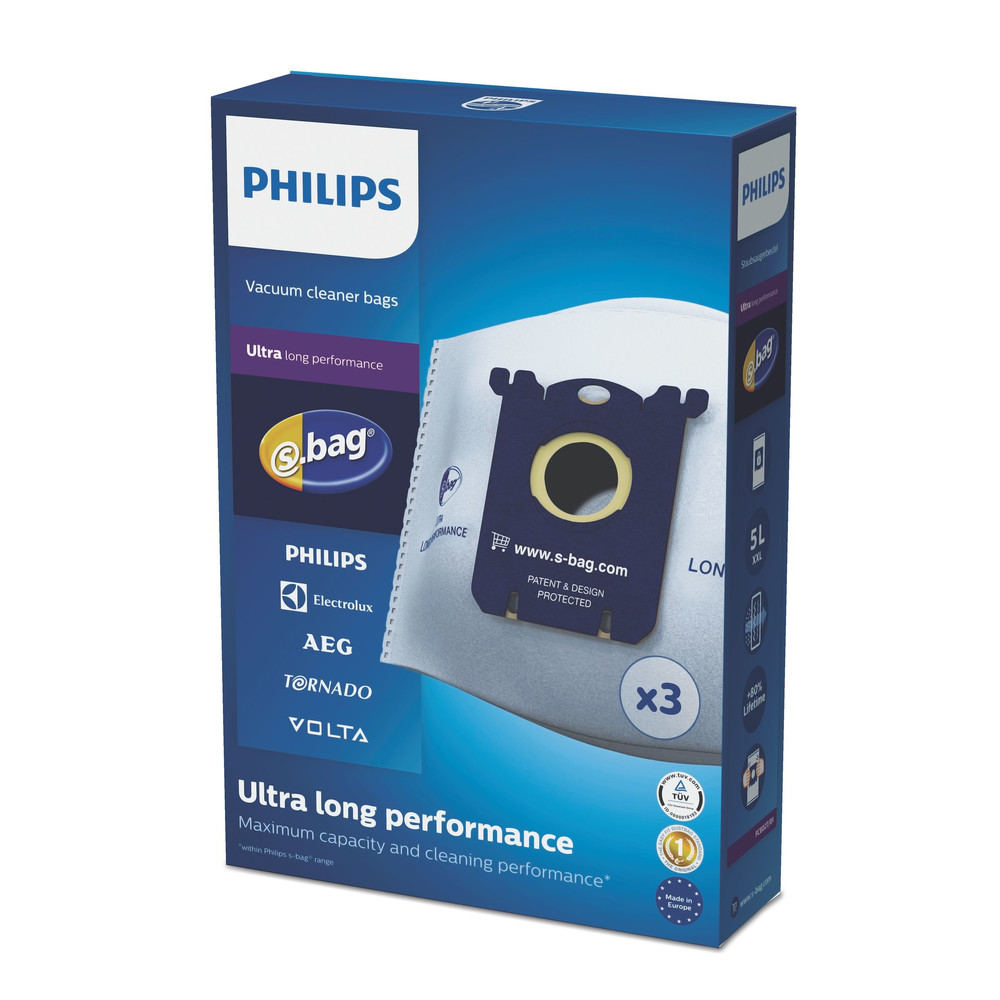 PHILIPS Ultra Long Performance S-Bag FC8027 / 01