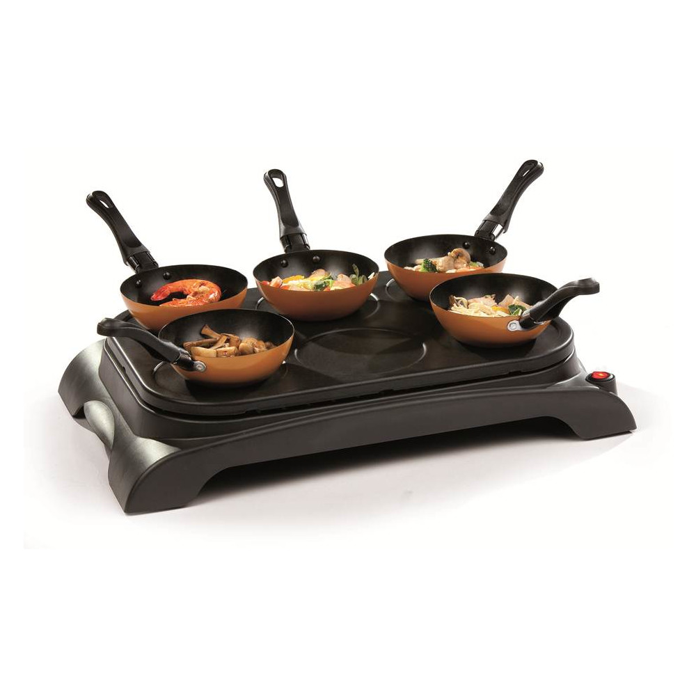 DOMO Wok-Party Set DO8706W