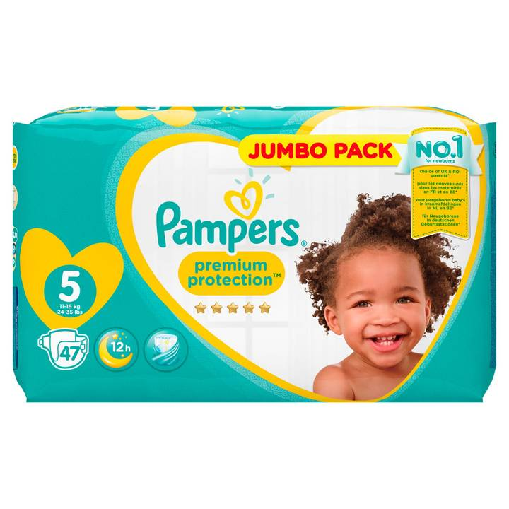 Pampers Premium Protection Gr.5 Junior 1
