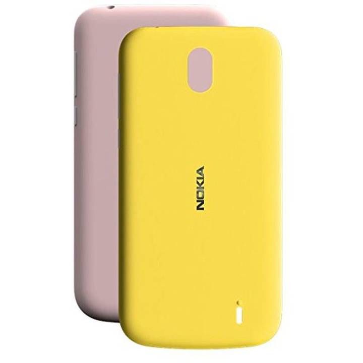 NOKIA Backcover Dual Pack Pink / Yellow