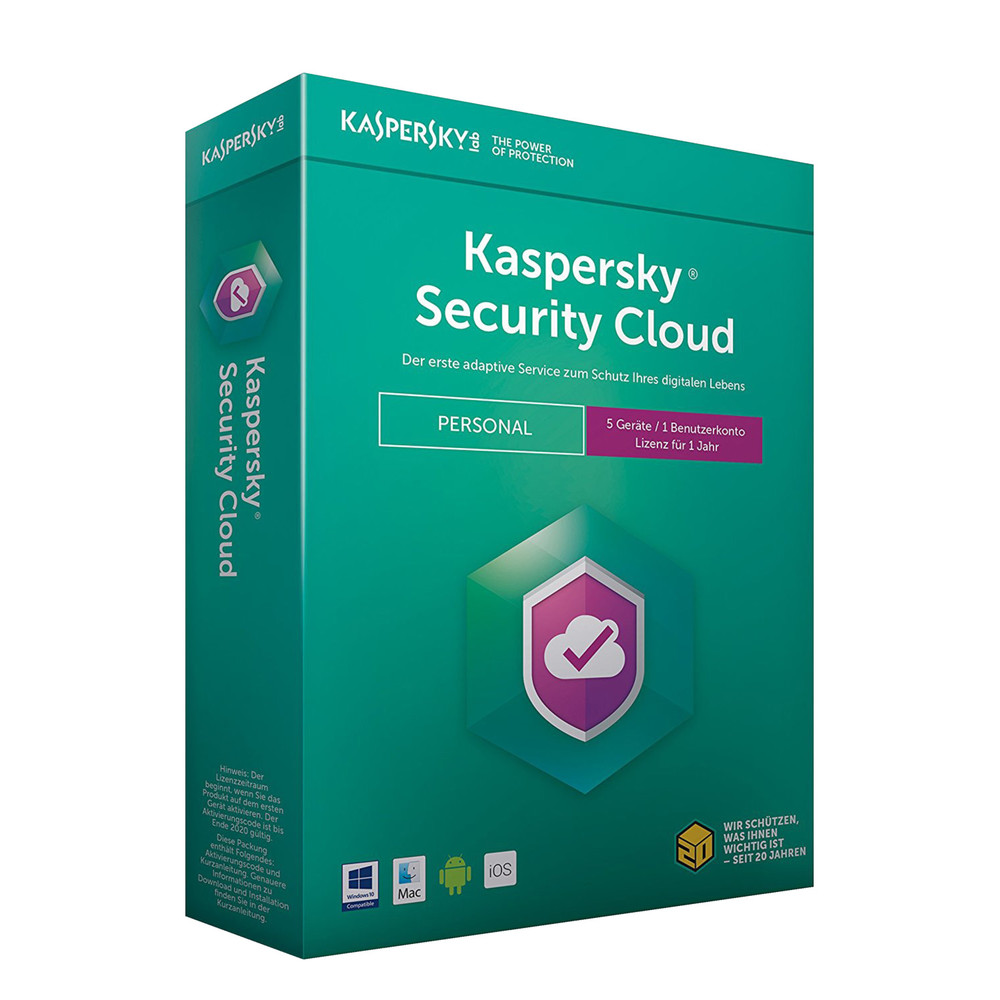 KASPERSKY Security Cloud Personal Edition 5 Geräte