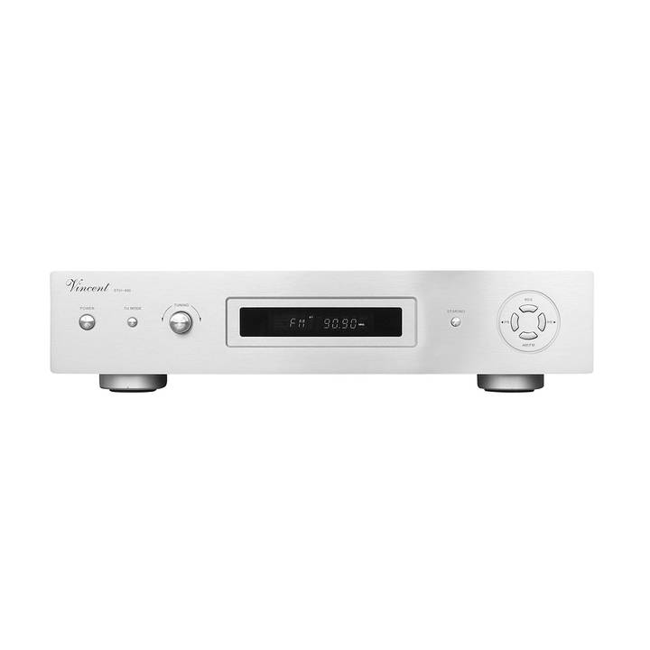 VINCENT onsetLine RDS Stereo AM/FM Tuner STU-400 Silver