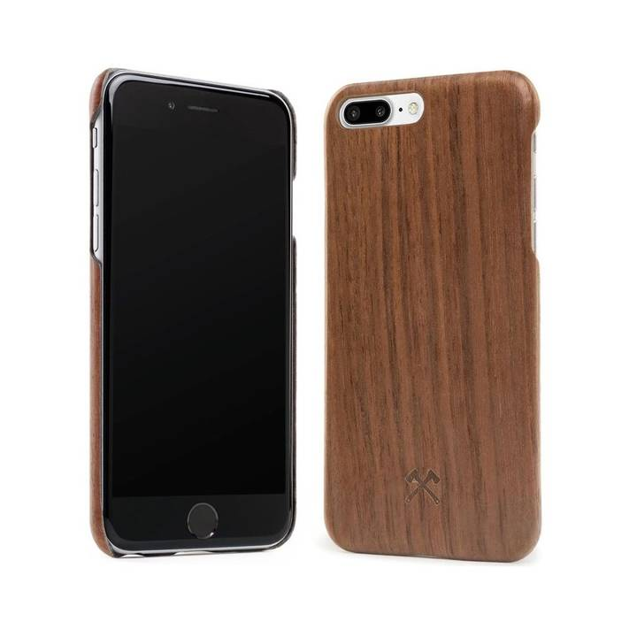 WOODCESSORIES Backcover EcoCase Kevlar für iPhone 7 / 8 Plus Walnuss