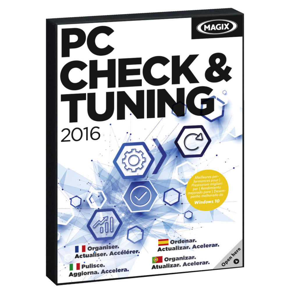MAGIX PC Check & Tuning 2016 6 User