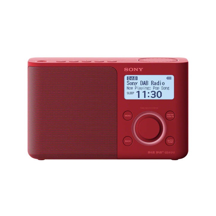 SONY XDR-S61D Rouge