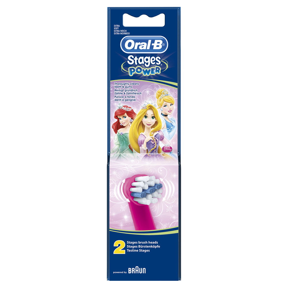 ORAL-B Stages Ersatzbürsten Disney